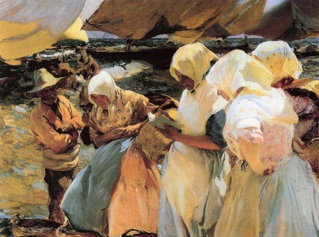 Valencian Fishwives 1903