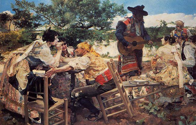 Valencian Scene 1893
