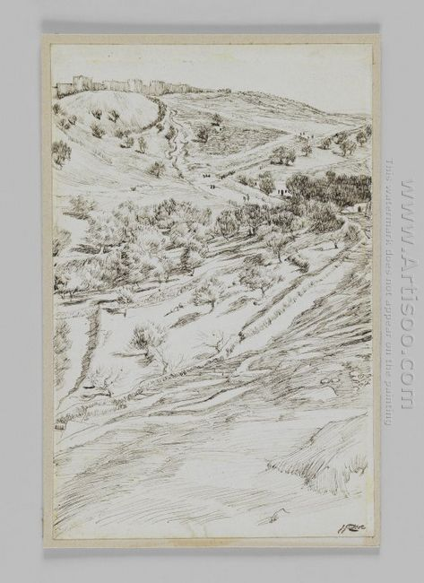 Valley Of Jehoshaphat 1889
