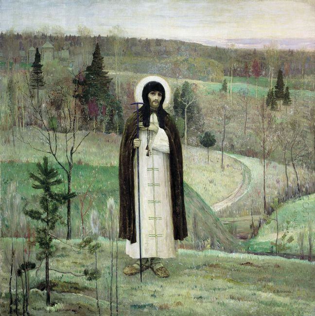 Venerable Sergius Of Radonezh 1899