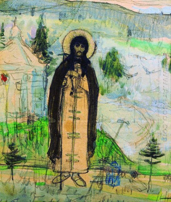 Venerable Sergius Of Radonezh Sketch