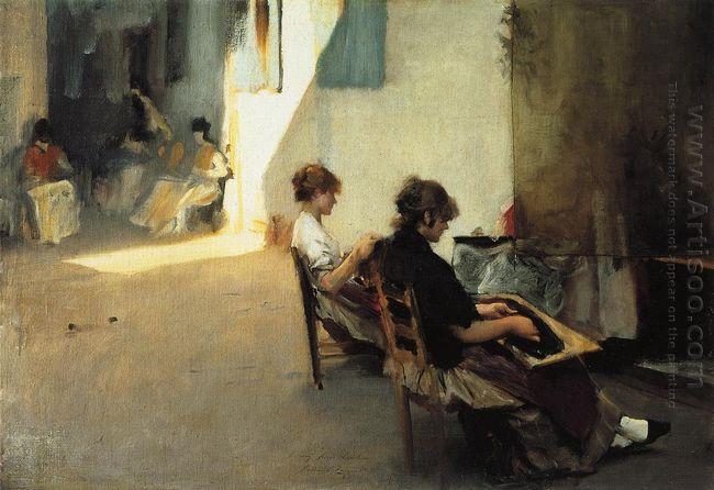Venetian Bead Stringers 1882