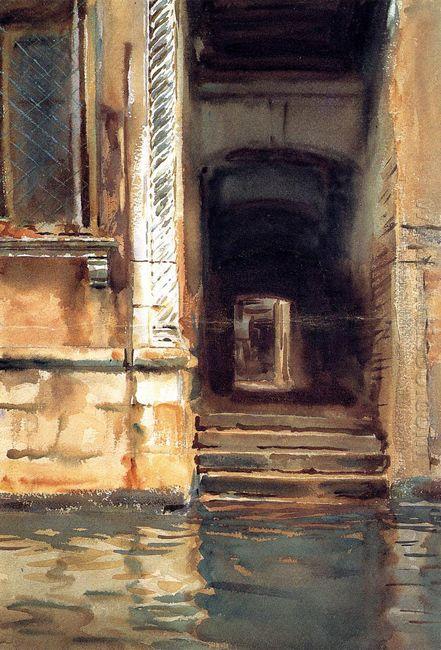 Venetian Doorway