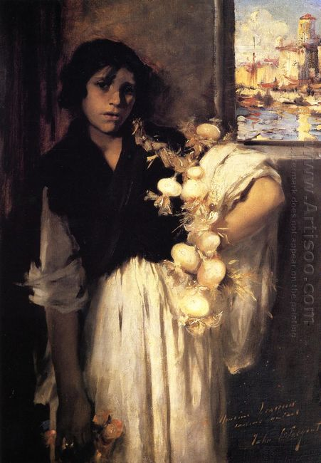 Venetian Onion Seller 1882