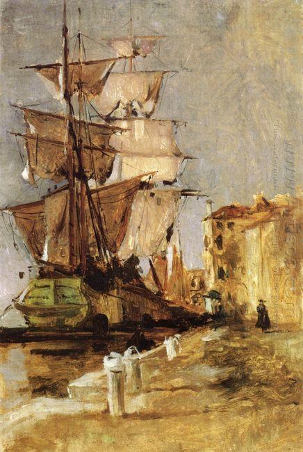 Venetian Sailing Vessel