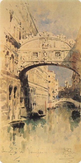 Venice Bridge Of Sighs 1894