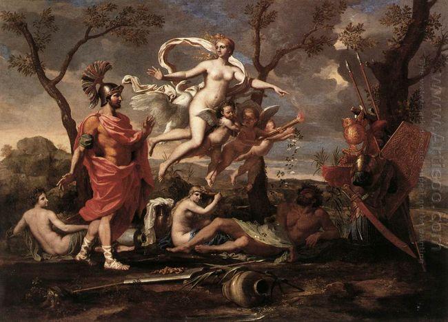 Venus Presenting Arms To Aeneas 1639