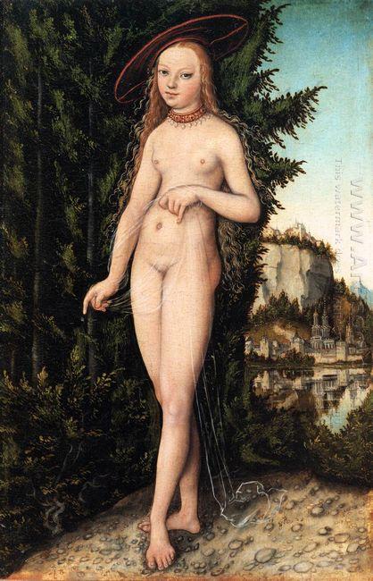 Venus Standing In A Landscape 1529