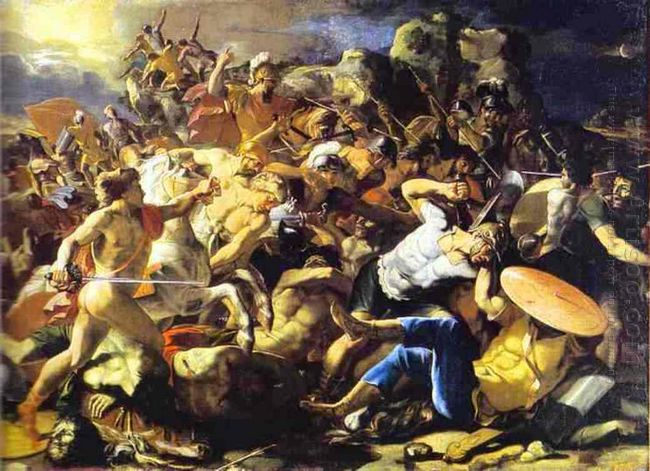 Victory Of Joshua Over Amorites 1626