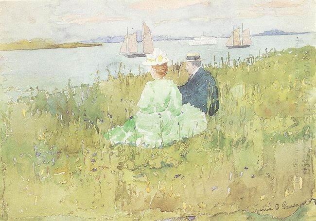 Viewing The Ships 1896