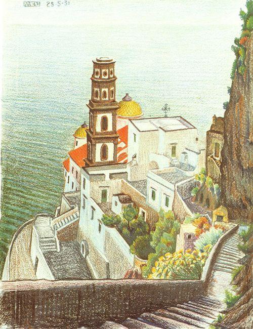 View Of Atrani