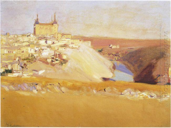 View Of Toledo 1912