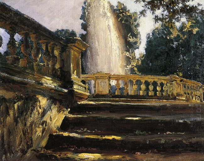 Villa Torlonia Fountain 1907 1