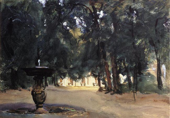 Villa Torlonia Fountain 1907 2