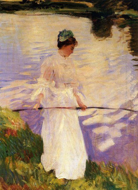 Violet Fishing 1889