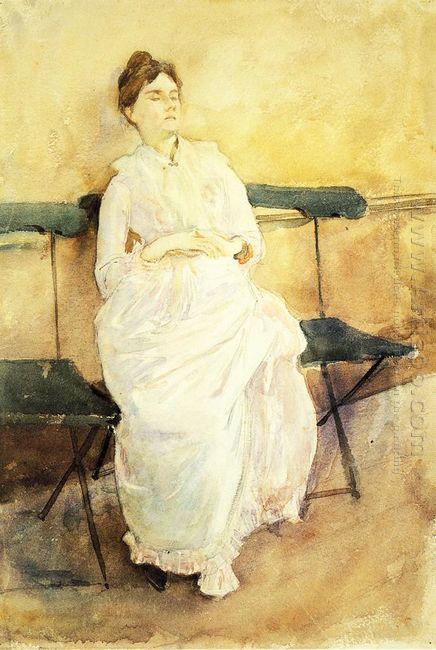 Violet Sargent 1887