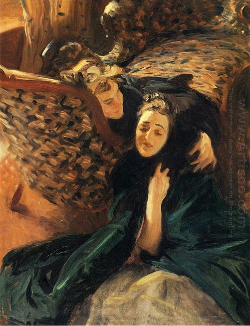 Violet Sargent And Flora Priestley 1889