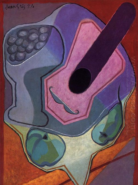Violin With Fruit 1924