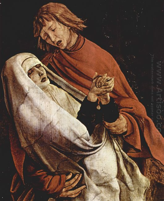 Virgin And Mary Magdalen At The Foot Of The Cross Detail From Th