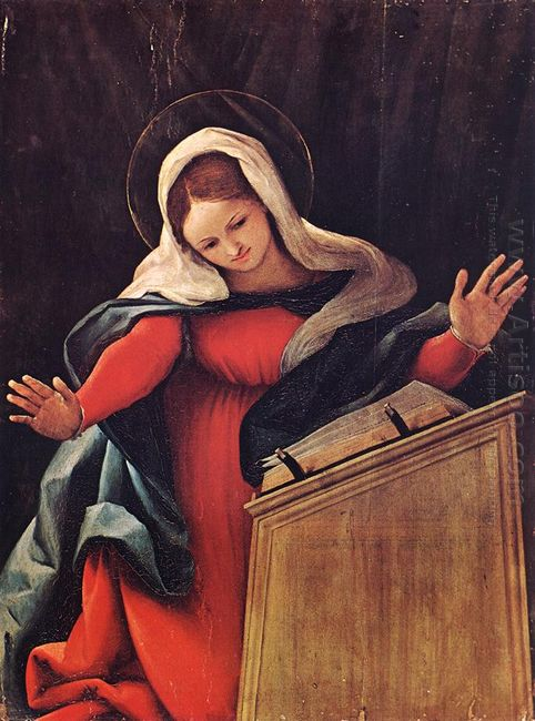 Virgin Annunciated 1527