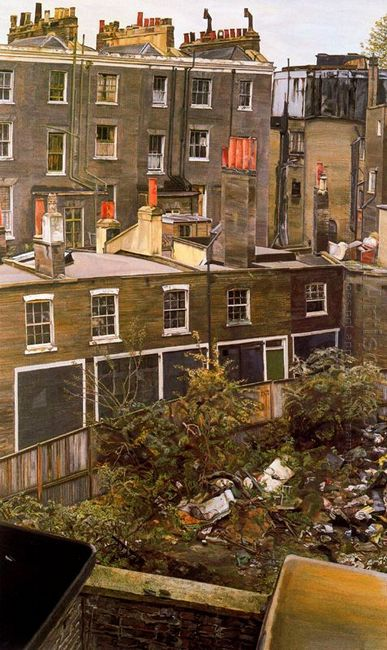 Wasteground With Houses Paddington 1972