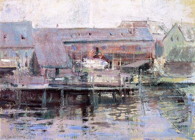 Waterfront Scene Gloucester