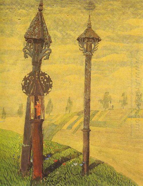 Wayside Crosses Of Zemaitija 1909