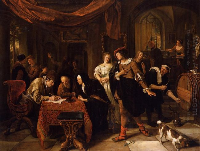 Wedding Of Tobias And Sarah 1668