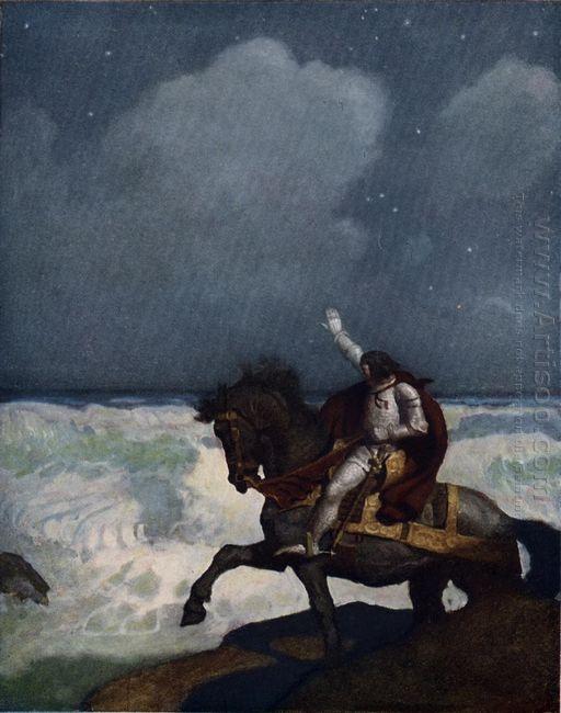 When Sir Percival Came Nigh Unto The Brim