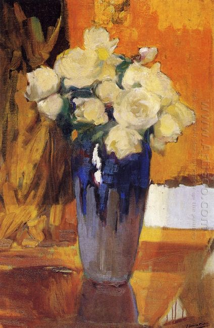 White Roses From The House Garden 1919