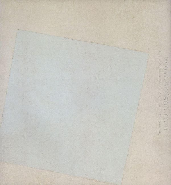 White Square by Kazimir Malevich