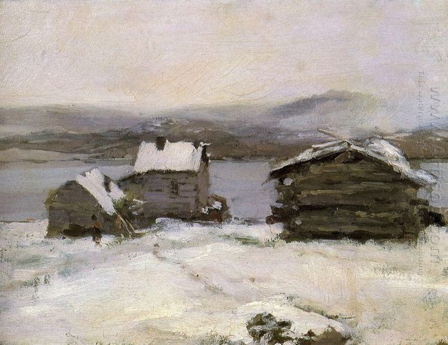 Winter In Lapland 1894