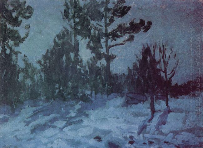 Winter Night 1910