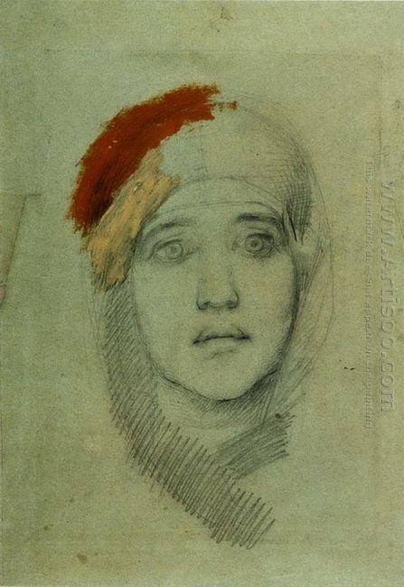 Woman S Head Emily L Prahova 1884