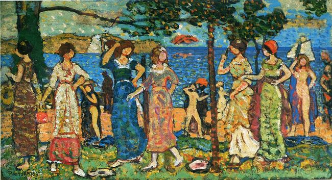 Women At Seashore