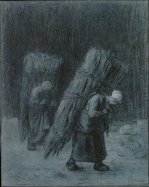 Women Carrying Faggots 1858