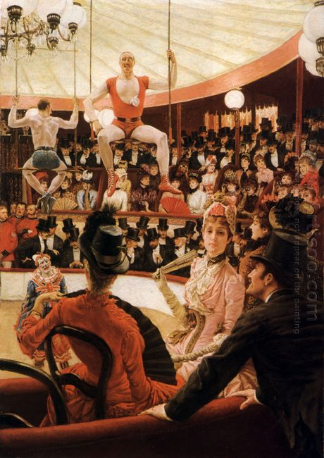 Women Of Paris The Circus Lover 1885