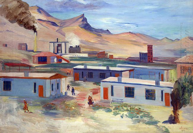 Worker S Settlement And Concrete Plant Davalu Ararat Region 1937
