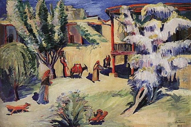 Yard In Yerevan 1928