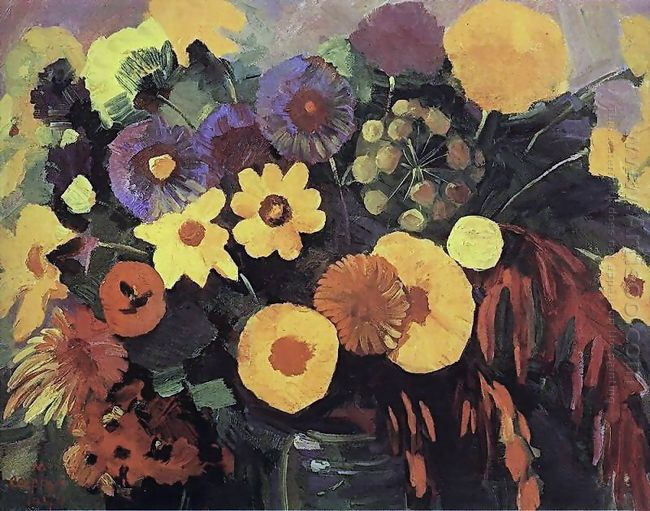 Yellow Flowers 1944
