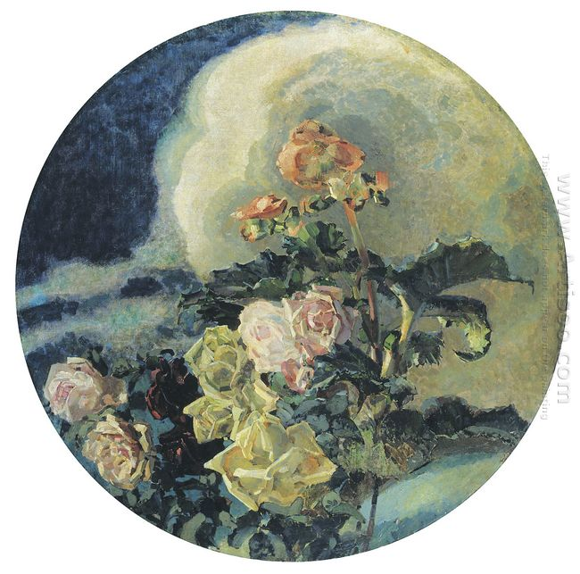 Yellow Roses 1894