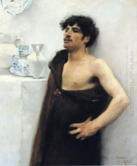 Young Man In Reverie 1876