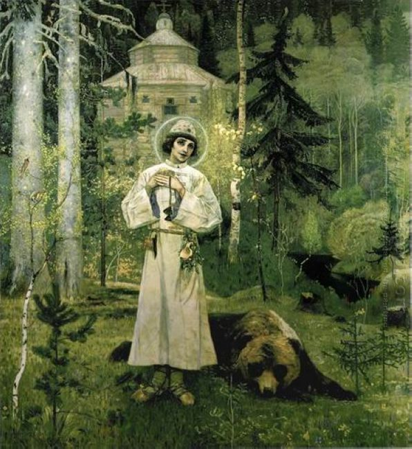 Youth Of St Sergius 1897