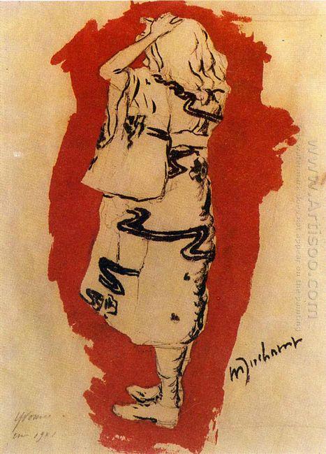 Yvonne In Kimono 1901