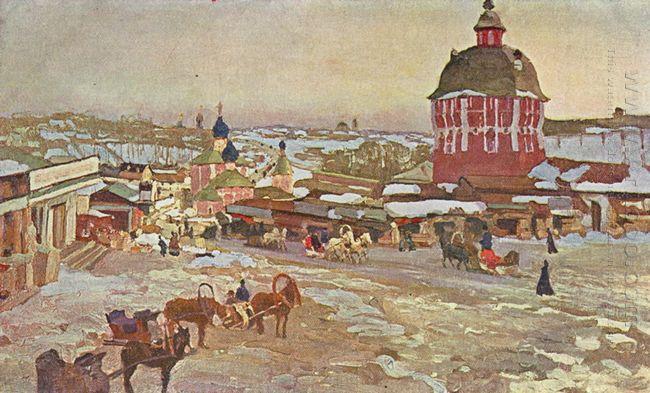 Zagorsk Market Square