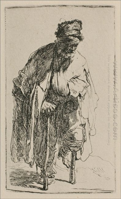 A Beggar With A Wooden Leg 1630