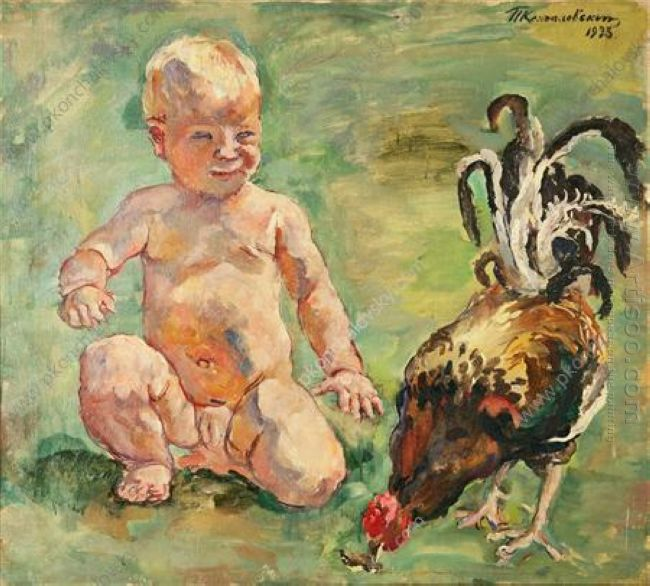 A Boy With A Cock 1933