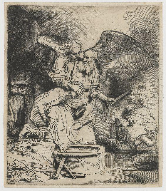 Abraham S Sacrifice 1655