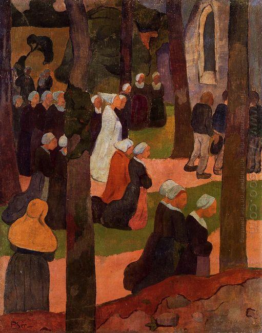 A Breton Sunday 1890