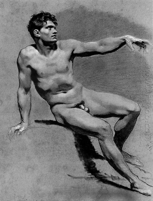 Academic Male Nude 1